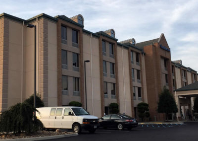 Commercial Exterior Painting Project – Comfort Inn – Roanoke